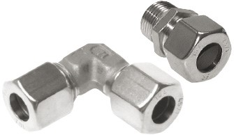 Steel & stainless steel cutting ring fittings - Compression ring fittings, ISO 8434-1 (4-42 mm)