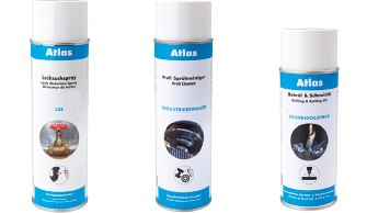 Atlas - Sprays, adhesives, sealants, pastes & cleaners